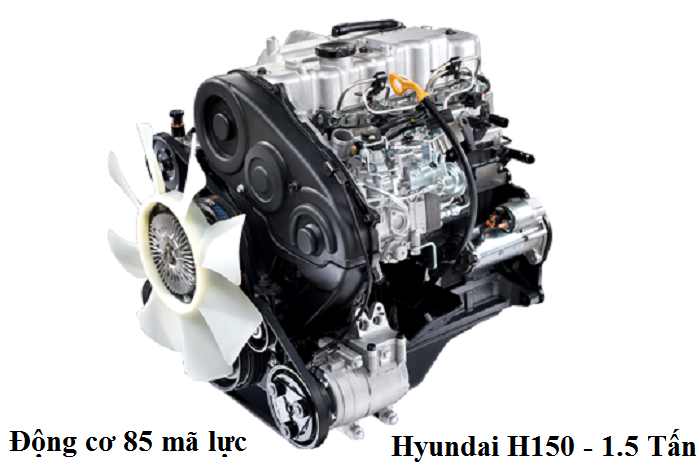 Xe Tải 1T5 Hyundai 1.5 tấn H150 Porter Thành Công